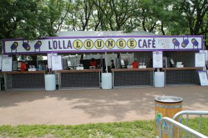 Catering Lollapalooza - Lolla Lounge