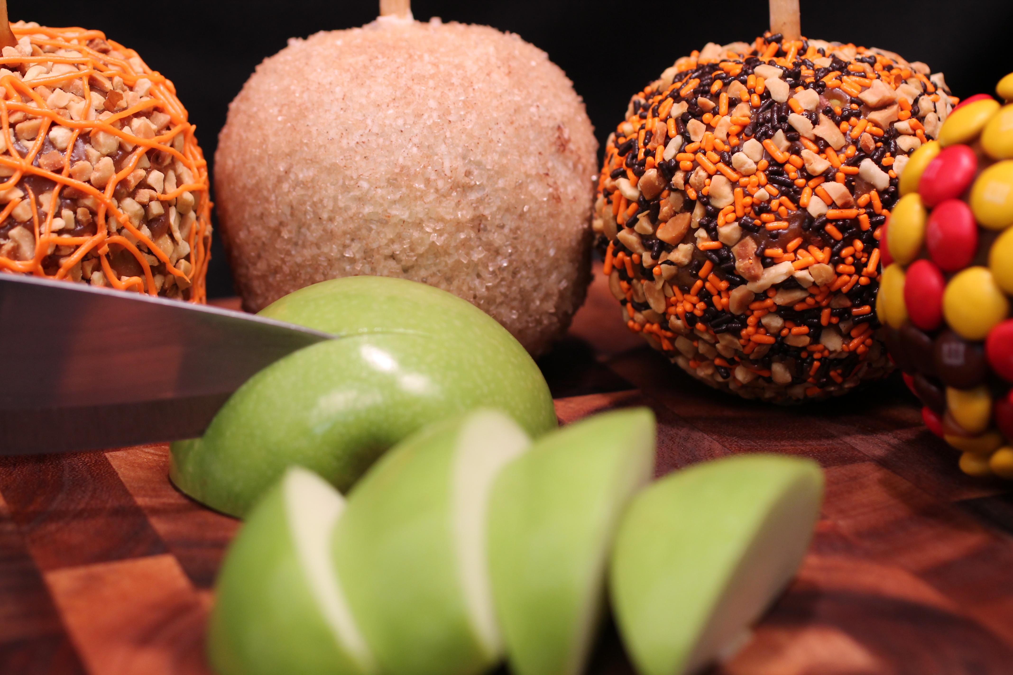 caramel taffy apples
