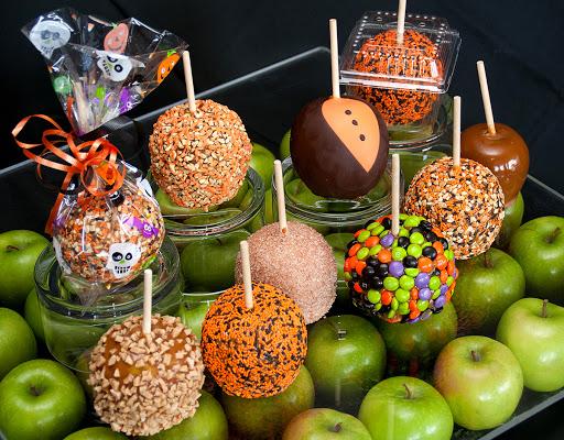 Taffy apple assortment