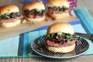 Father's Day Menu - Tenderloin Sliders with Truffle Aioli
