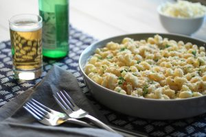Father's Day Menu - Beer & Cheddar Macaroni & Cheese