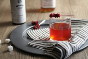 Father's Day Menu - Sour Cherry Old Fashioned