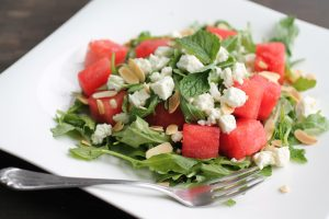 Graduation party catering Watermelon Feta Salad