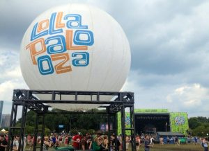 Catering Lollapalooza
